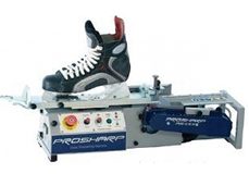 Affutage patin patinoire synthetique
