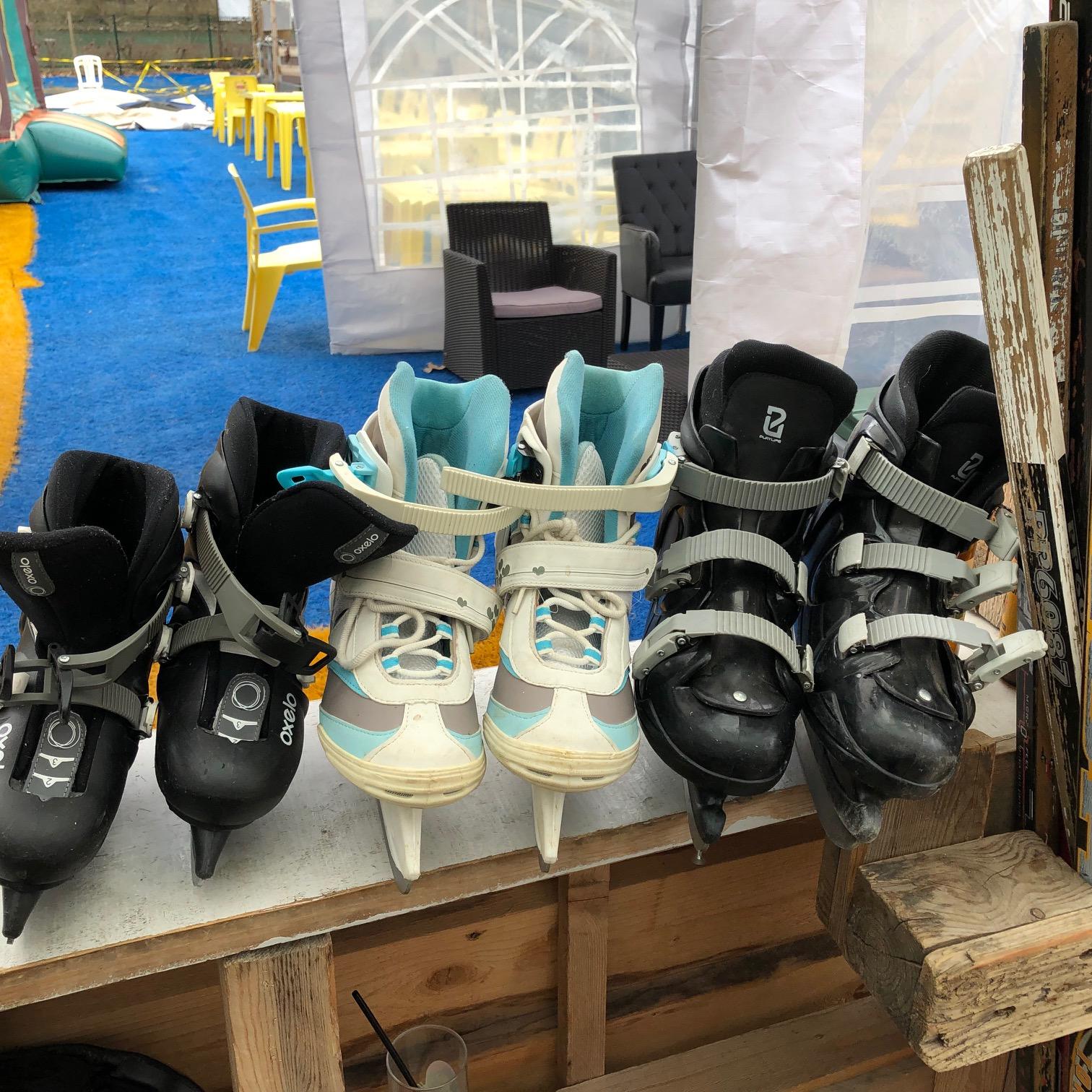 Paires de patins