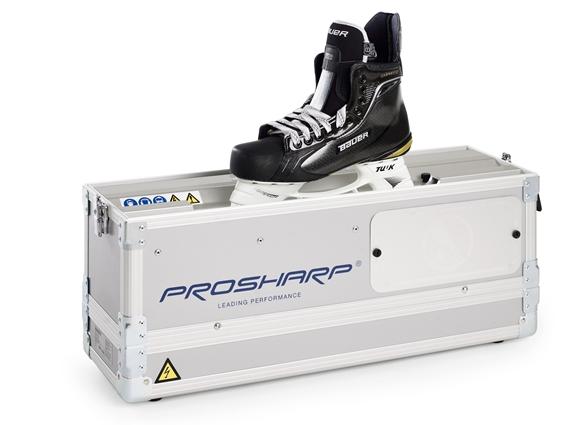 Affûteuse entièrement automatisée pour l'entretien régulier des patins